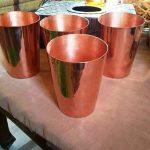 gelas dan bowl tembaga (13)
