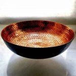 gelas dan bowl tembaga (8)