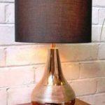 kerajinan lampu meja tembaga (2)