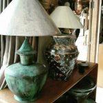 kerajinan lampu meja tembaga (3)