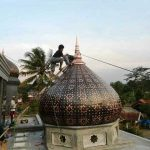 kubah dan ornamen masjid (3)