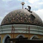 kubah dan ornamen masjid (7)