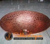 wastafel tembaga 15 – sahla logam